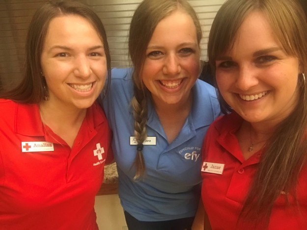 Nursing Students Help Strengthen Youth at EFY as Counselors